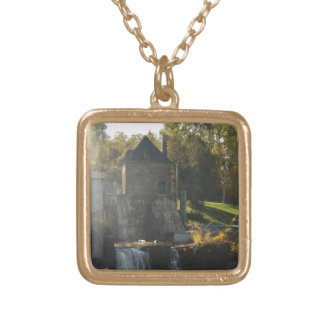 Rainbow Falls Hydroelectric Plant Personalized Necklace