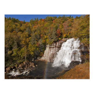 Rainbow Falls in Gorges State Park in North Postcard