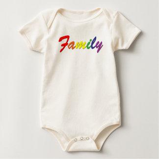 Rainbow Family Bodysuit