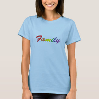 Rainbow Family Women's Tee