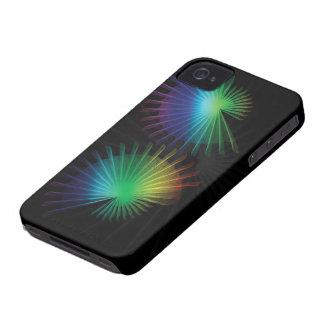 Rainbow Fan iPhone 4 Case