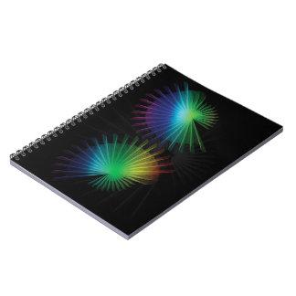Rainbow Fan Notebook
