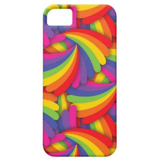 Rainbow Fan Pattern iPhone SE/5/5s Case