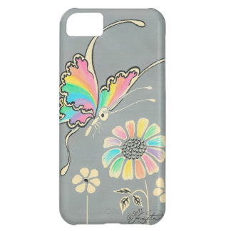 Rainbow Fantasy Butterfly iPhone 5C Covers