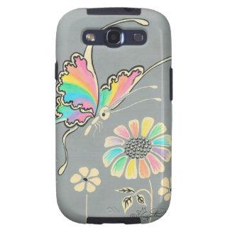 Rainbow Fantasy Butterfly Samsung Galaxy SIII Case