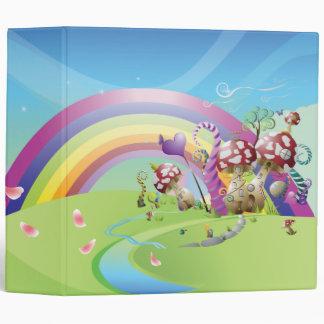 Rainbow Fantasy Land  Binder