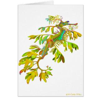 Rainbow Fantasy Leafy Sea Dragon Card
