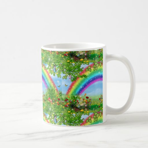 rainbow fantasy mug