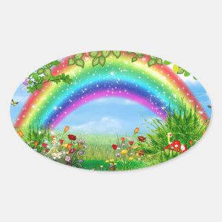 Rainbow fantasy stickers