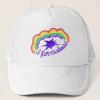 Rainbow Farts hat - choose color