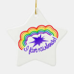 Rainbow Farts ornament, customize