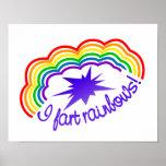 Rainbow Farts poster