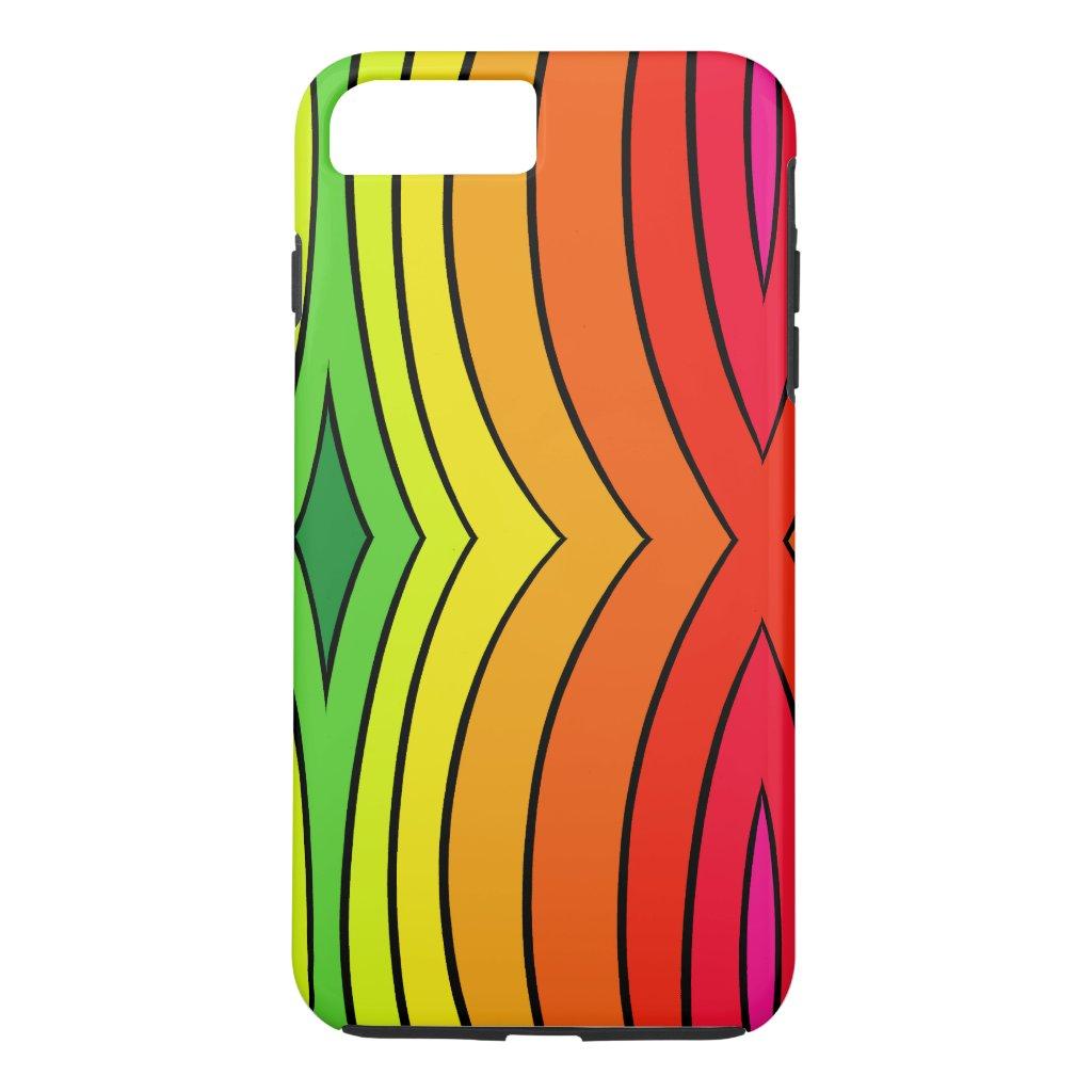 Rainbow Fashion Trendy Pop Art Fun CricketDiane iPhone 8 Plus/7 Plus Case