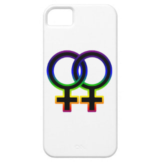 Rainbow Female Homosexual Symbol iPhone SE/5/5s Case