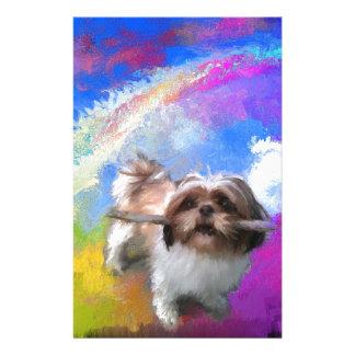 Rainbow fetch.jpg custom stationery