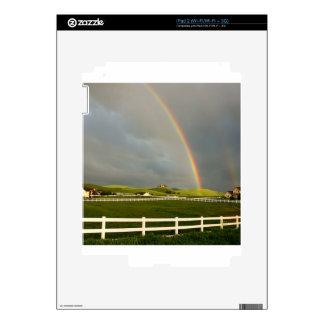 Rainbow Field Farm Stretch Skin For The iPad 2