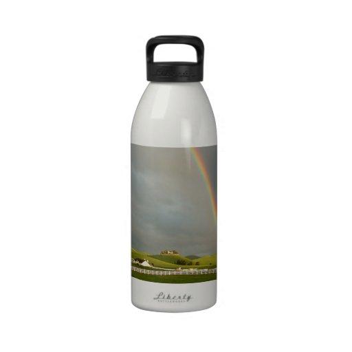 Rainbow Field Farm Stretch Water Bottle