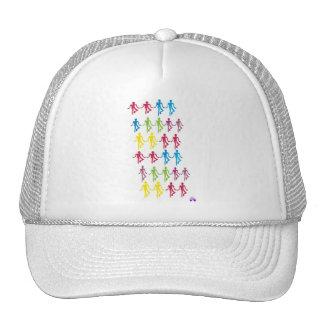 Rainbow Figure Hat