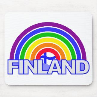 Rainbow Finland mousepad