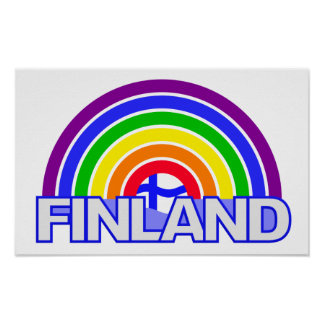 Rainbow Finland poster