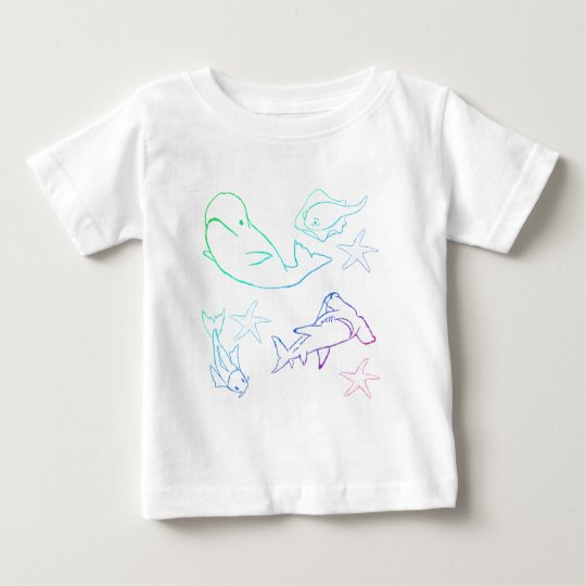 rainbow fish baby T-Shirt