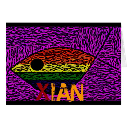 Rainbow Fish Card