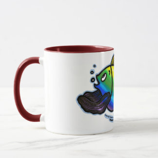 Rainbow Fish Mug