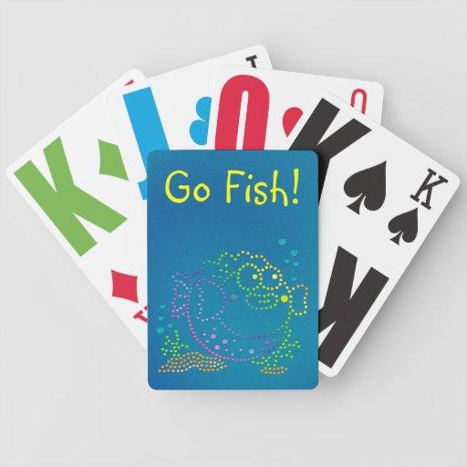 Rainbow Fish Poker Deck