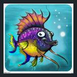 "Rainbow Fish Wall Decal<br><div class=""desc"">rainbow fish</div>"