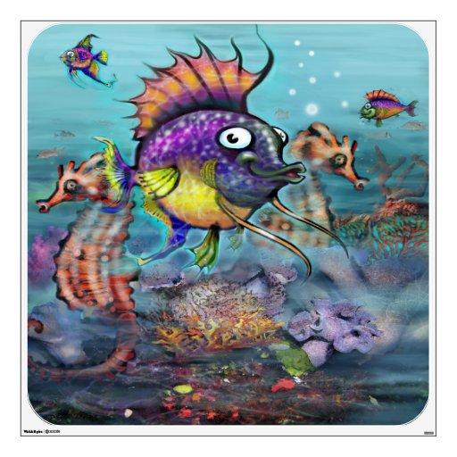 Rainbow Fish Wall Graphics