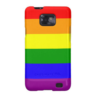 Rainbow flag Android case Samsung Galaxy S2 Cases