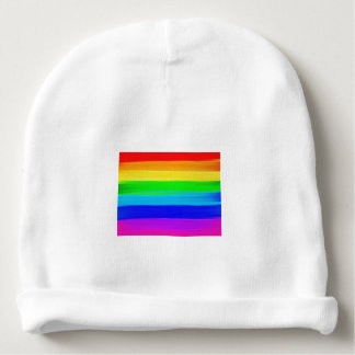 Rainbow Flag Baby Hat