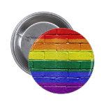 Rainbow flag button