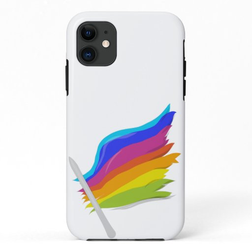 Rainbow flag iPhone 11 case