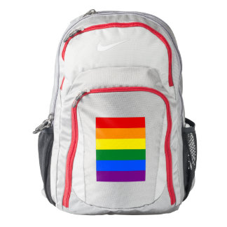 RAINBOW FLAG COLORS + your ideas Backpack