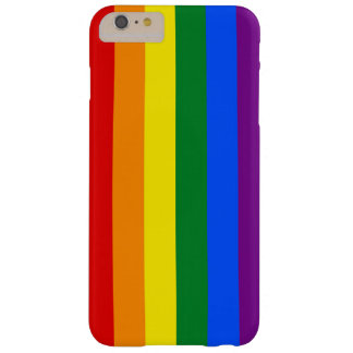 RAINBOW FLAG COLORS + your ideas Barely There iPhone 6 Plus Case