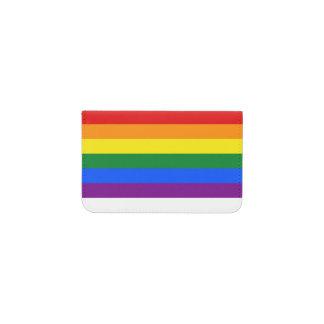 RAINBOW FLAG COLORS + your ideas Business Card Holder
