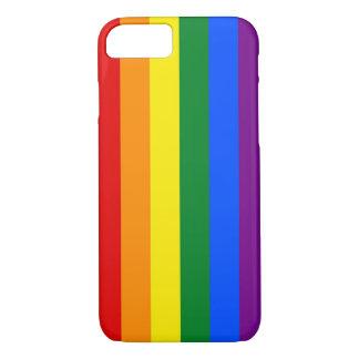 RAINBOW FLAG COLORS + your ideas iPhone 8/7 Case