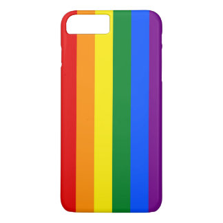 RAINBOW FLAG COLORS + your ideas iPhone 8 Plus/7 Plus Case