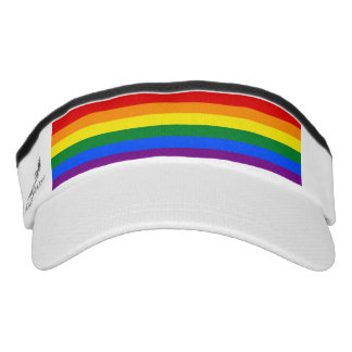 RAINBOW FLAG COLORS + your ideas Visor