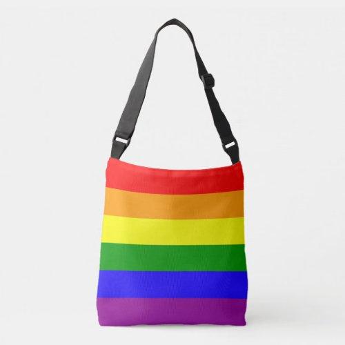 Rainbow Flag Crossbody Bag