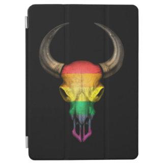 Rainbow Flag Gay Pride Bull Skull iPad Air Cover