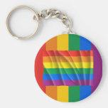 RAINBOW FLAG / GAY PRIDE KEY CHAINS