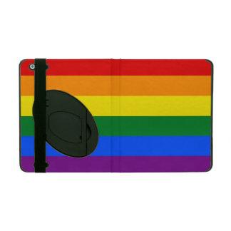 Rainbow Flag iPad Folio Case