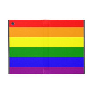 Rainbow flag iPad mini cover