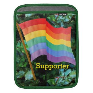 Rainbow Flag iPad Sleeves