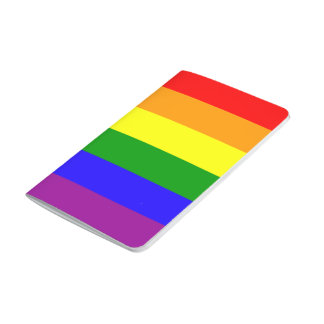 Rainbow flag journal