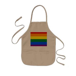 Rainbow Flag Kids' Apron
