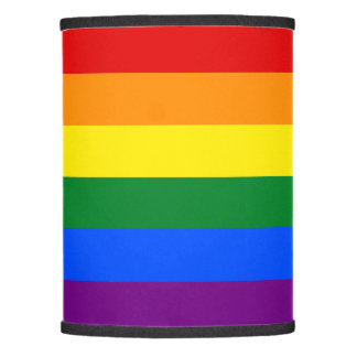 Rainbow Flag Lamp Shade