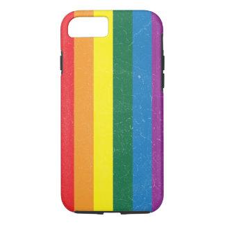 Rainbow Flag - LGBT Movement iPhone 8/7 Case